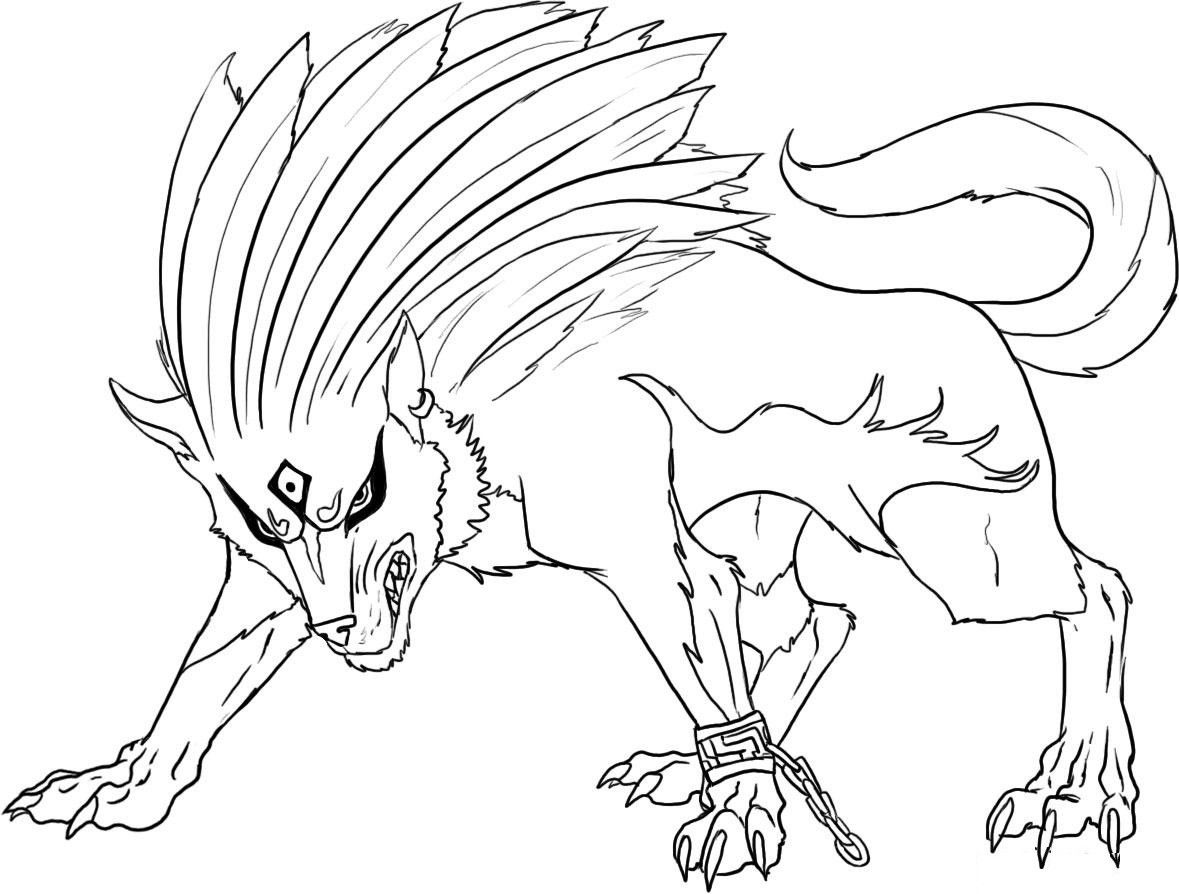 Wolf Coloring Pages In