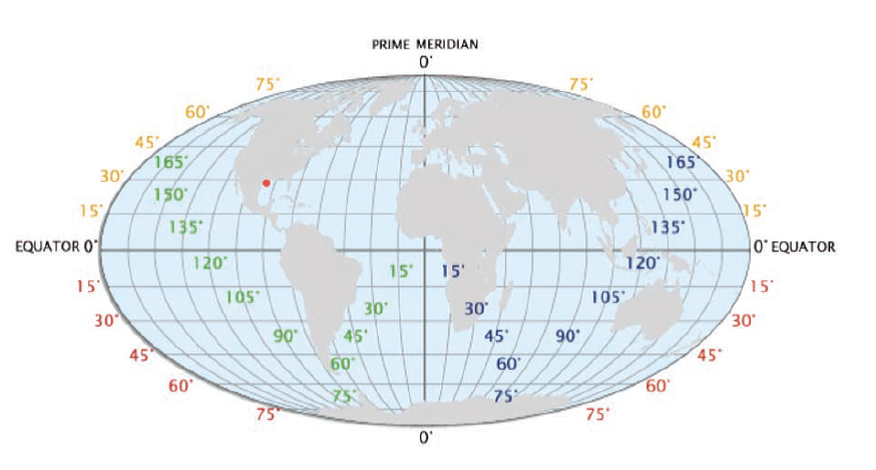 The Earth Grid Earth Grid Economic Geography Topography Map
