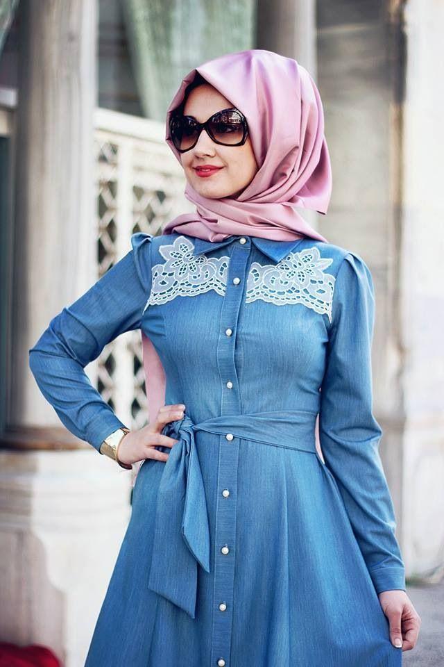 Epingle Par Safiya Umar Sur Dress Me Up Mode Robe En Jean Robe Fashion
