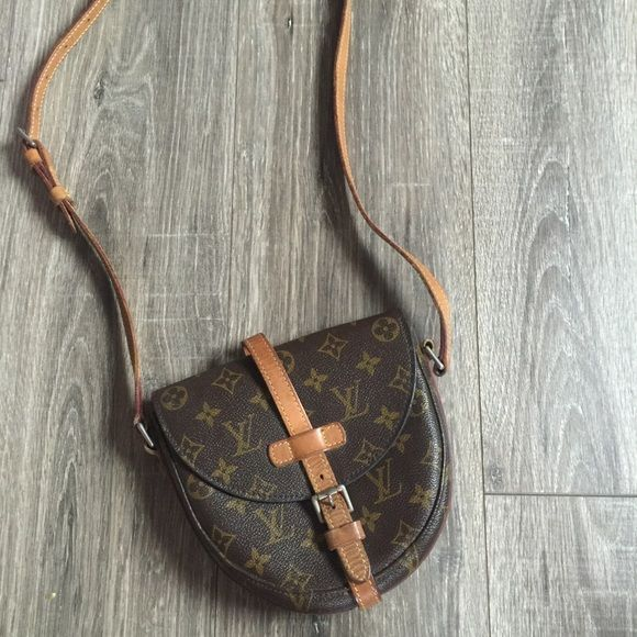 919eff9a4f93 Authentic Louis Vuitton Chantilly MM Handbag Bag Louis Vuitton Monogram  Canvas Chantilly MM Bag. It