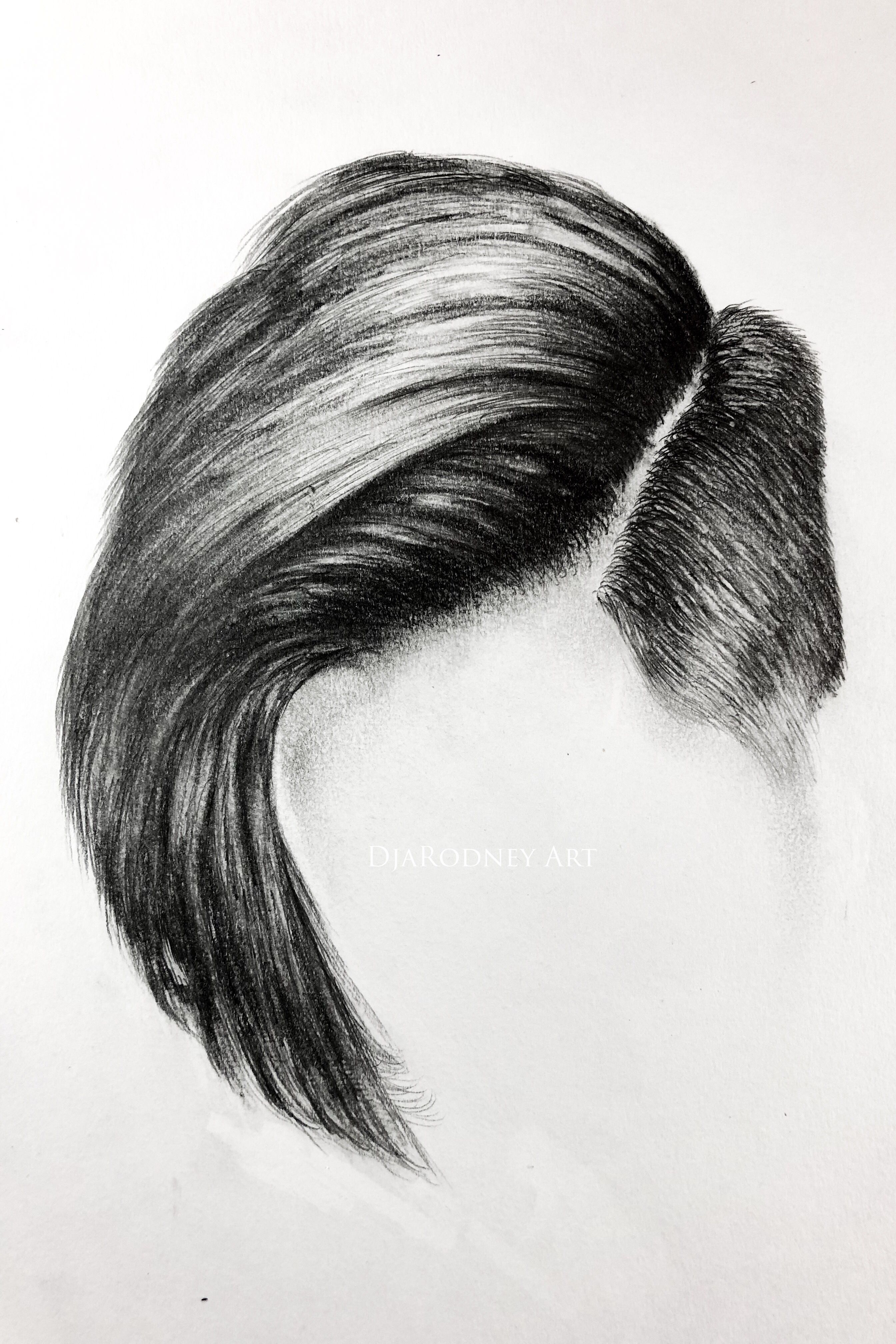 How To Draw Hair I Believe That Anyone Can Draw And My Goal Is To