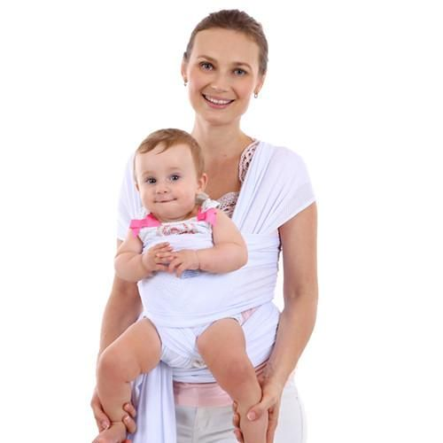 Baby Carrier Pouch Wrap Newborn To Toddler 5 In 1 Breathable Cotton