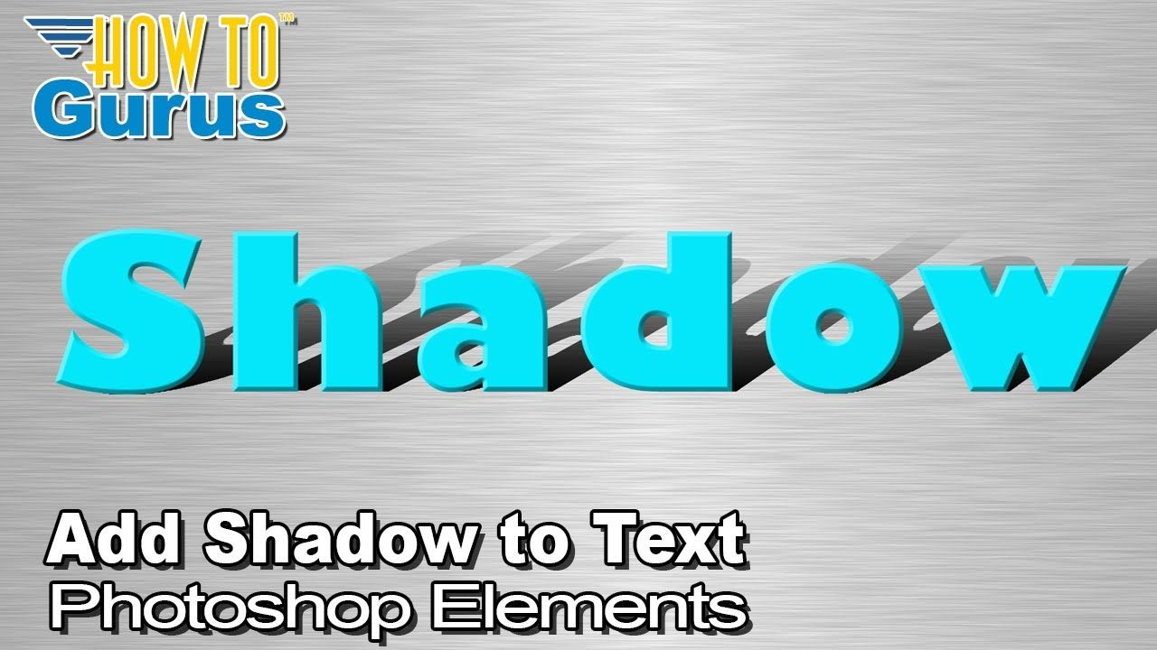 Fast and Easy Elements Add Shadow to Text 2020
