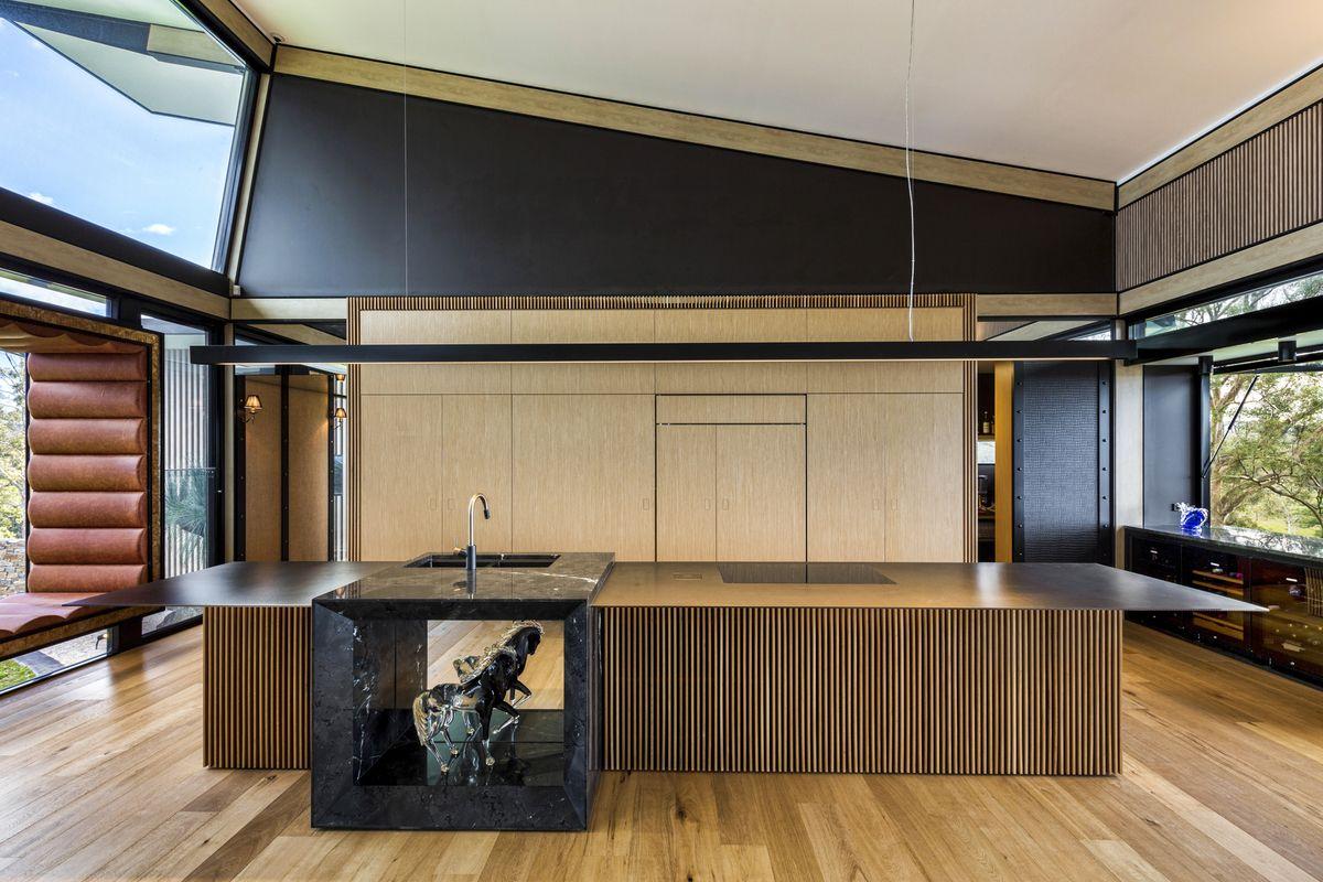 Luxury Queensland Home – Luxury Kitchen. Designer is Mark Gacesa of Ultraspace. Interiors by Minka Joinery www.minkajoinery.com.au
