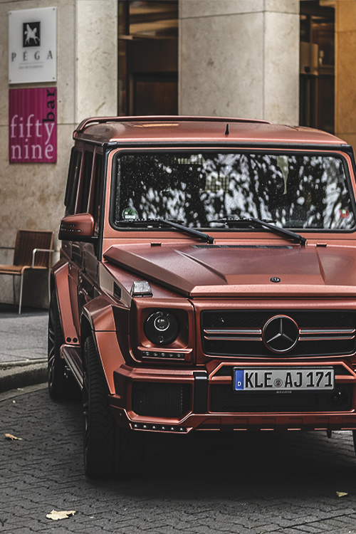 Pics for matte black g wagon tumblr for Mercedes benz g class parts