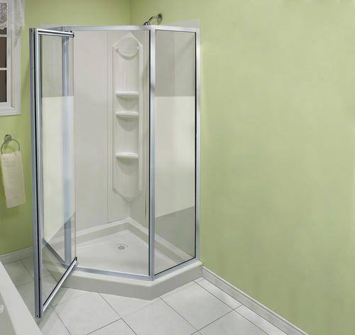 Menard S Neo Angle Shower Kit Includes Everything 359 Corner