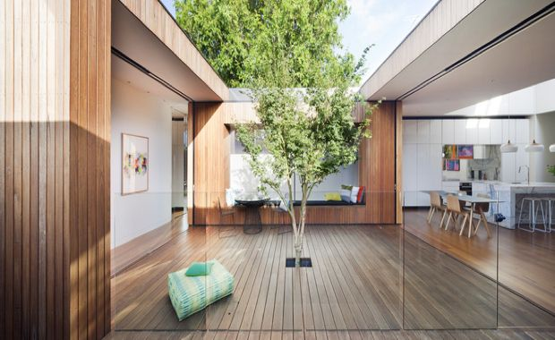 Courtyard House Vic Matt Gibson Architecture Design
