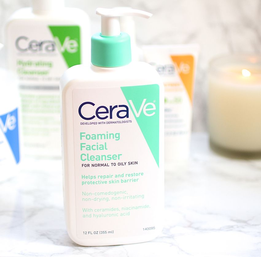 My Am Skin Care Routine Featuring Cerave Foaming Facial Cleanser