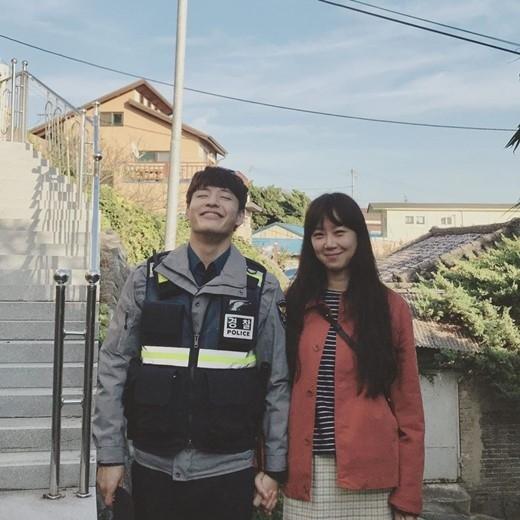 コン ヒョジン カン ハヌル 恋人役で共演中 仲睦まじいツーショットを公開 Kstyle 2020 カン ハヌル コンヒョジン 椿