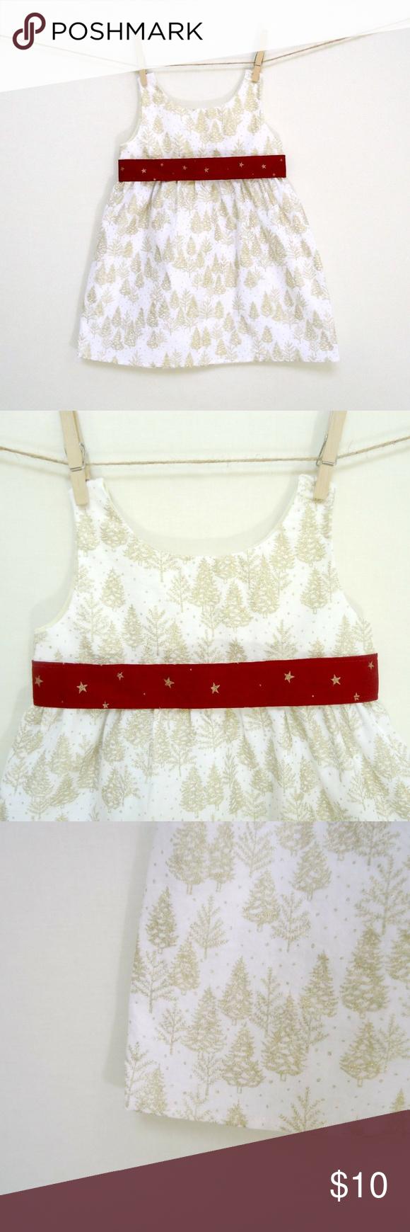 Girls White Dress Christmas Tree Print 2t In 2020 Girls White Dress Girls Ruffle Dress Girls Blue Dress [ 1740 x 580 Pixel ]