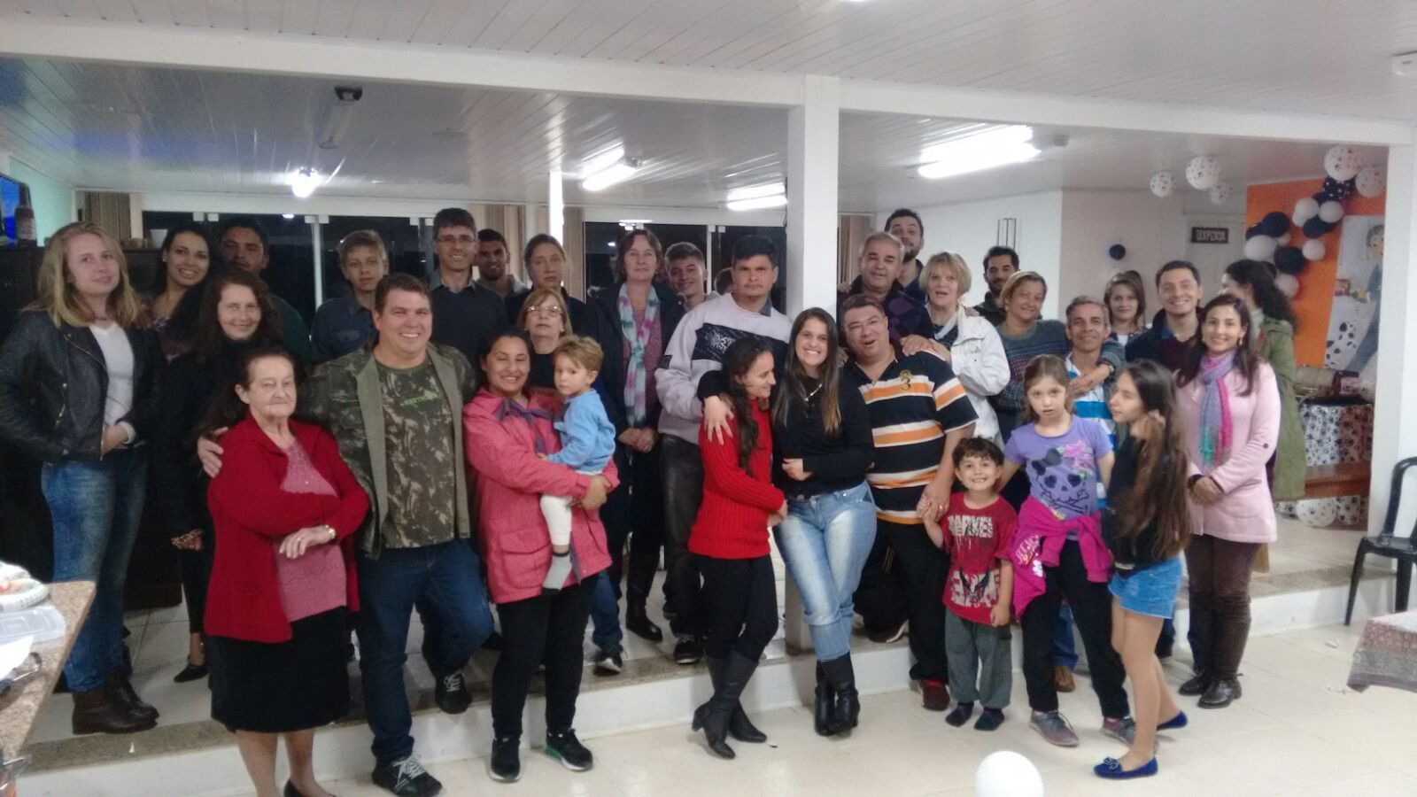 Linda festa da Igreja em Curitiba