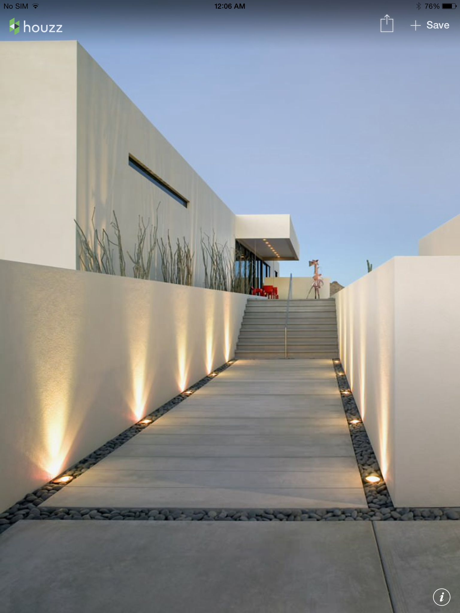 Outdoor modern path | Architecture shape | Pinterest | Einfahrt ...