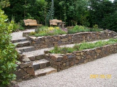 Superbe Natural Stone Garden Wall Tom OSullivan Construction Dry Stone Walls Added  On May 2016 At Write Teens