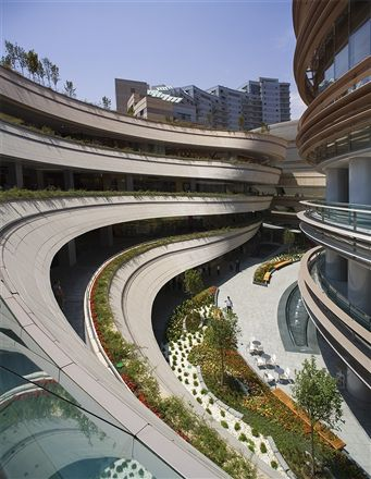 Kanyon Shopping Mall in Istanbul