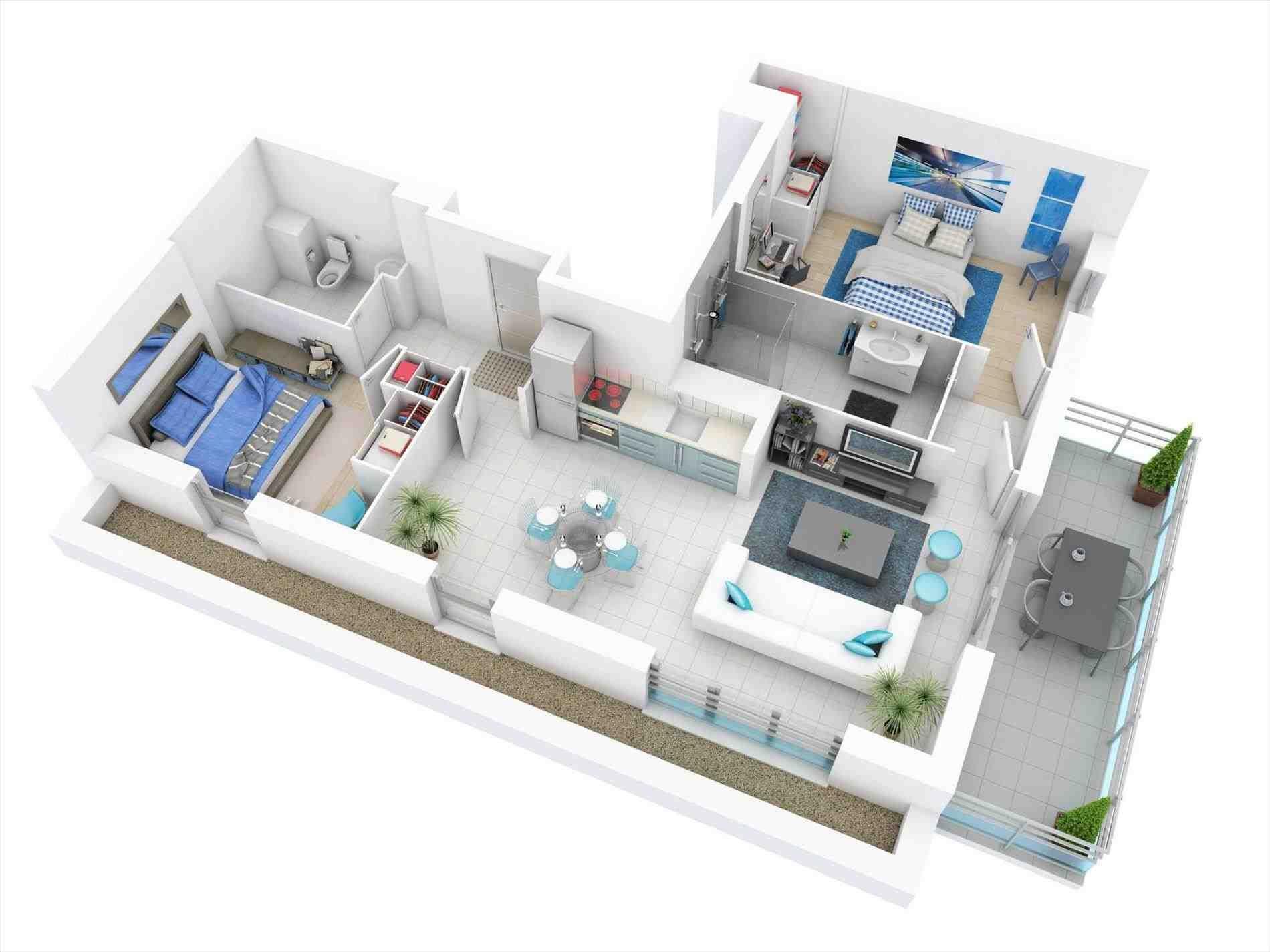 apartment plans 3d - 7) silicon valley. salita-3d . house ...