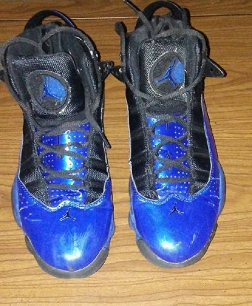 6ee5331bd97 Nike Air Jordan TW03 Size 8.5 Basketball Shoes Blue & Black #Nike  #BasketballShoes