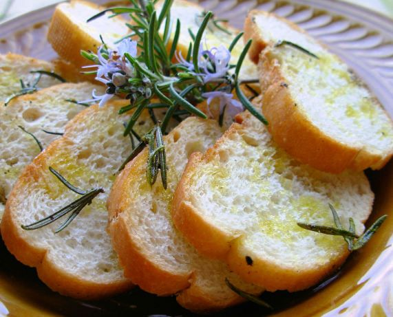 Rosemary Grilled Bread
