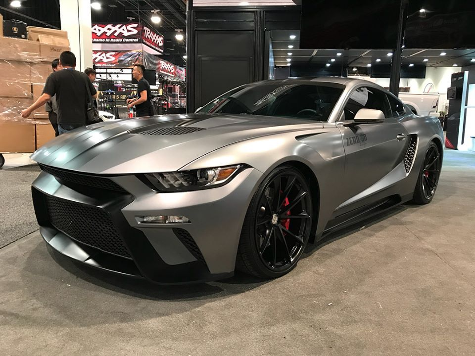 Ford S 2018 Mustangs At 2017 Sema Show