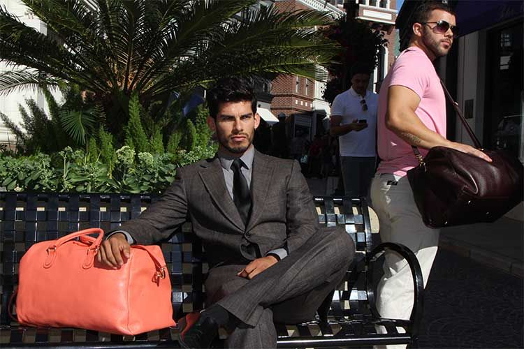 LINĒIJ™ – Handcrafted #travel bags for men featured on #MenStyleFashion.