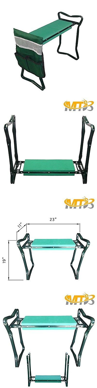 MTB Heavy Duty Folding Garden Kneeler Bench For Weeding And Portable Garden  S | Garden Kneelers Pads And Seats 75669 | Pinterest