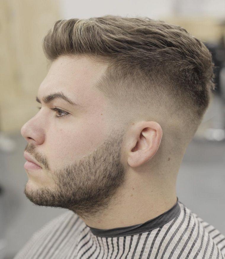 para la eleccin de un peinado debe tener en cuenta no slo las tendencias sino tambin la forma de la cara aqu tiene cortes de pelo hombre de moda - Corte Pelo Caballero