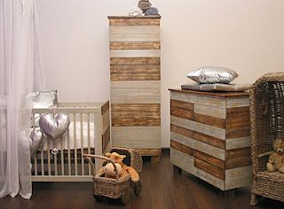 Inspiration: nice baby bedrooms. #babybedrooms #kids