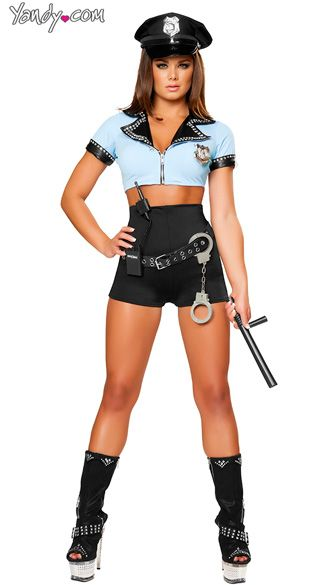 Sexy Police Woman Costume Black and Blue Cop Costume Sexy Police Officer Halloween Costume  sc 1 st  Pinterest & Sexy Police Woman Costume Black and Blue Cop Costume Sexy Police ...