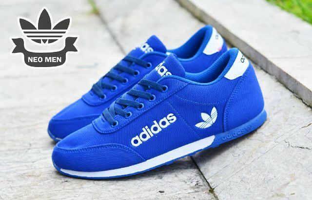 Adidas Neo Jogging Blue Size 40 44 Harga 250 Belum Termasuk