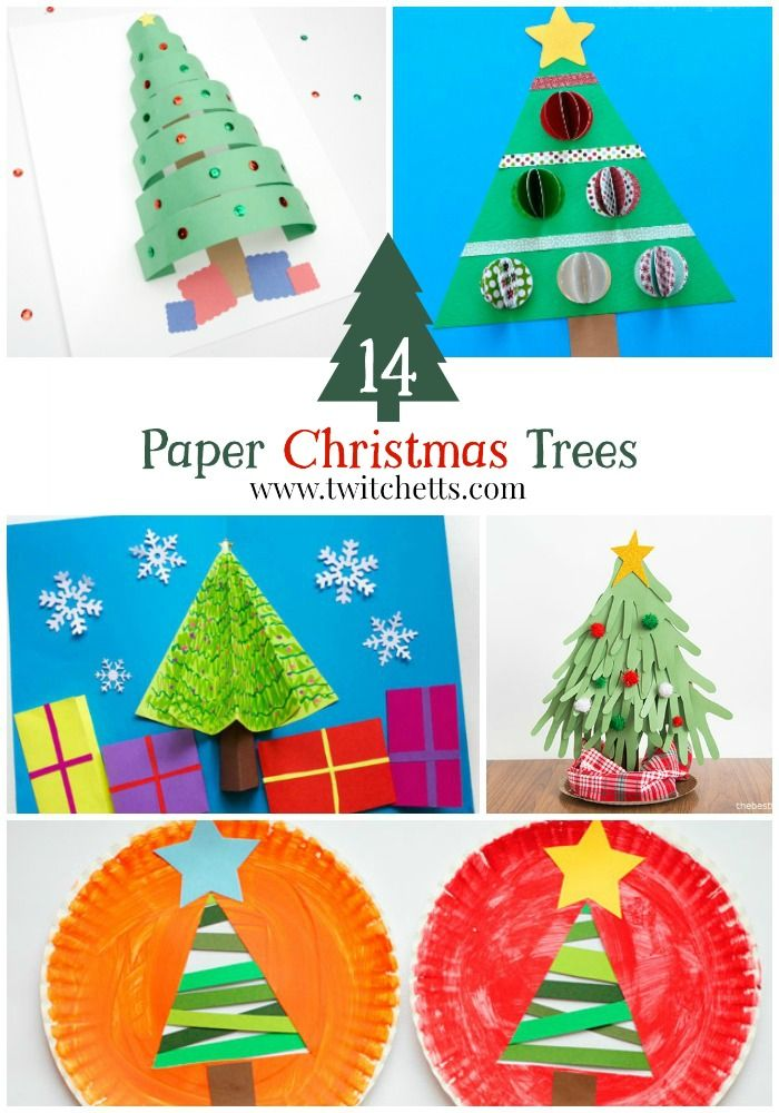 Construction Paper Christmas Trees Construction Paper Christmas