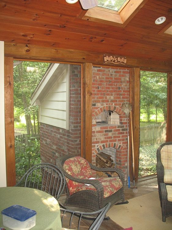 An outdoor brick oven is a MUST HAVE for my dream home!