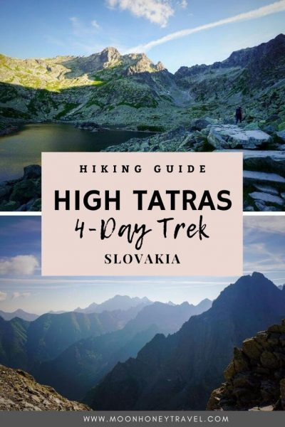 Trekking High Tatras Mountains, Slovakia