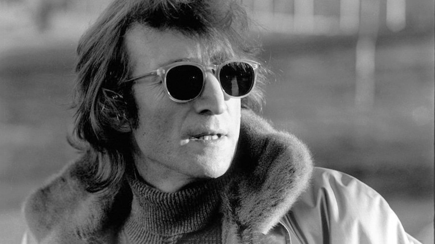 John Lennon  The Last Interview - Rolling Stone Óculos De Sol Do John  Lennon, 674543db6e