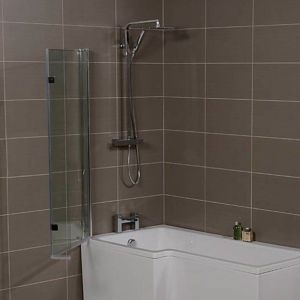 The Classy 1500mm Square Left Hand Shower Bath Is A Sophisticated Smaller Sized L Shaped