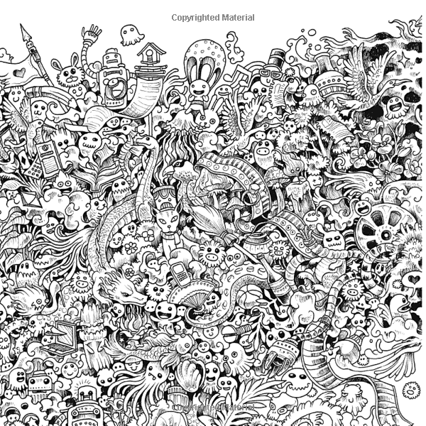 animorphia coloring pages Animorphia: An Extreme Coloring and Search Challenge: Kerby  animorphia coloring pages