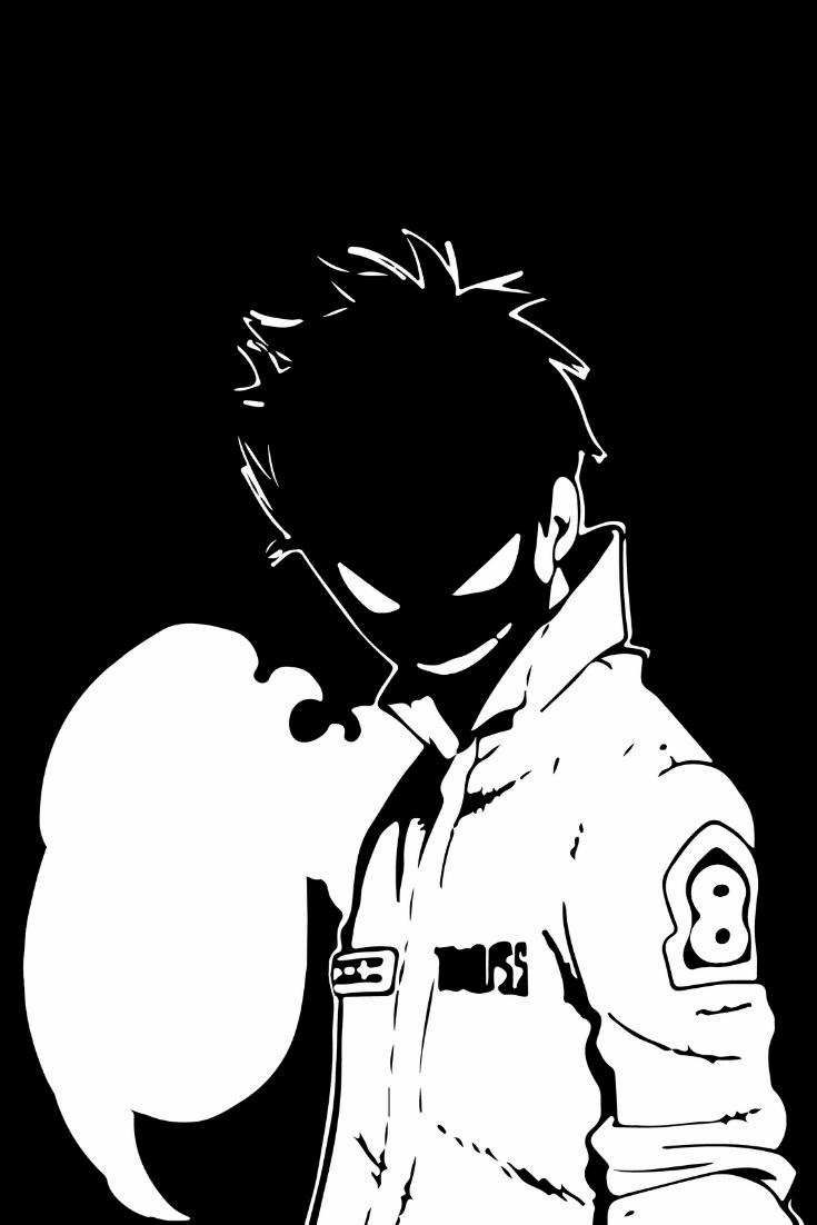 Fire Force Anime Manga Shinra Kusakabe