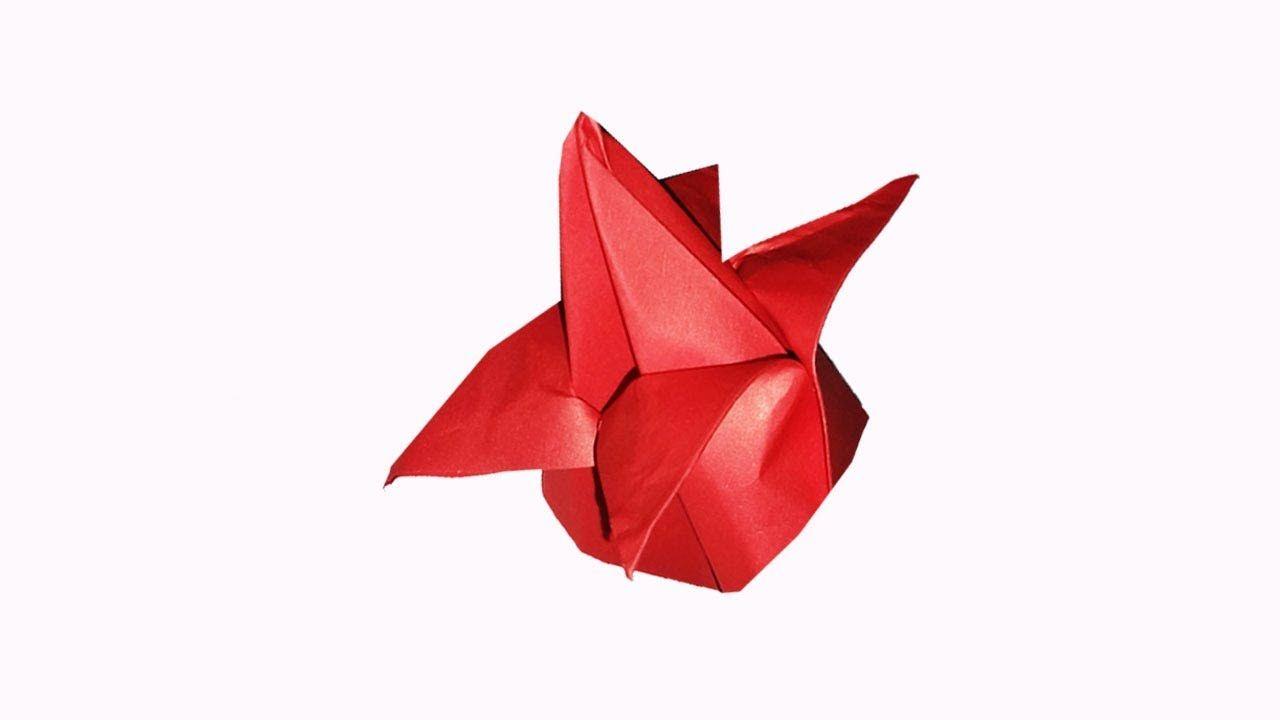How To Make Origami Flowers Easyorigami Lotus Flowereasy Paper