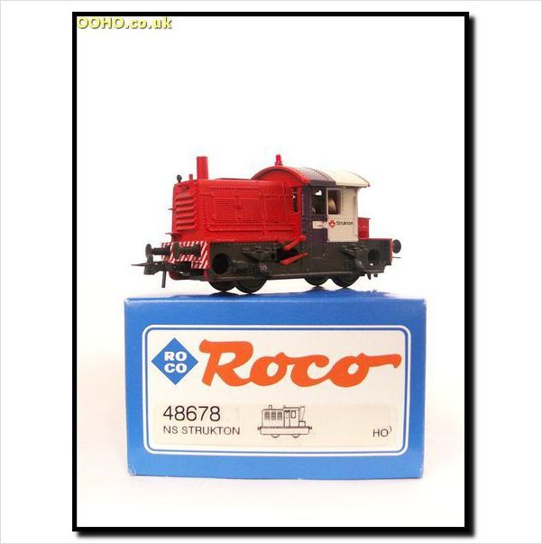 Roco 48678 Dutch Ns Livery 200 300 Sik Strukton 0 4 0 Diesel