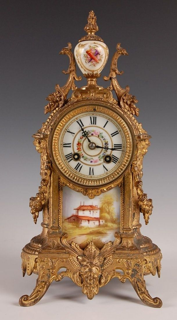 French Mantel Clock Mantle