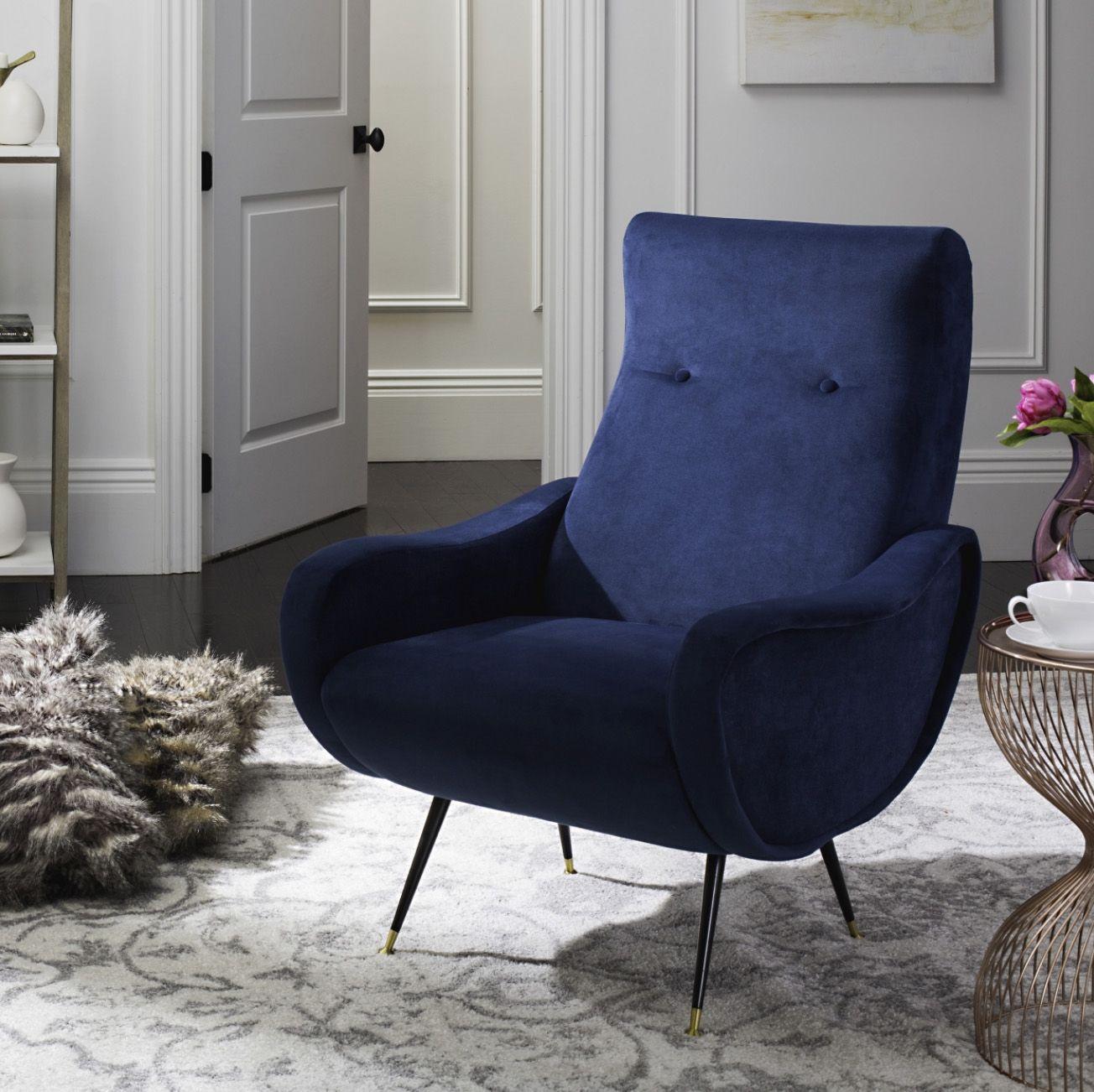 Gift Guide For The Bohemian Bachelor Velvet Accent Chair Living