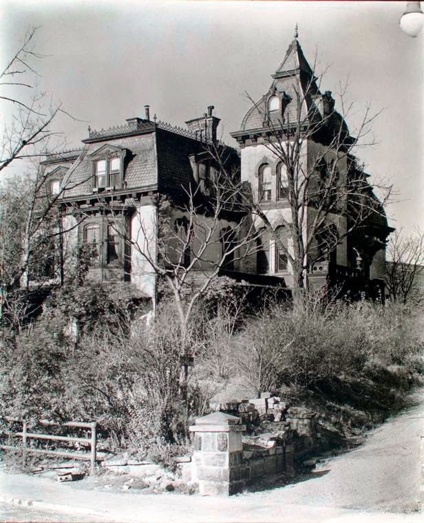 The Lost Wm. A. Wheelock Mansion -- 661 West 158th Street