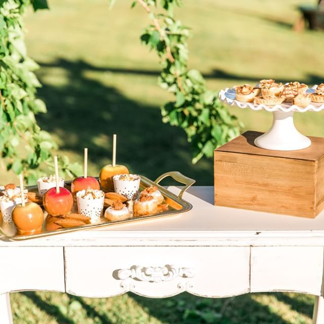Tired of cake?! Try other tiny treats at your wedding or special event. And don'…