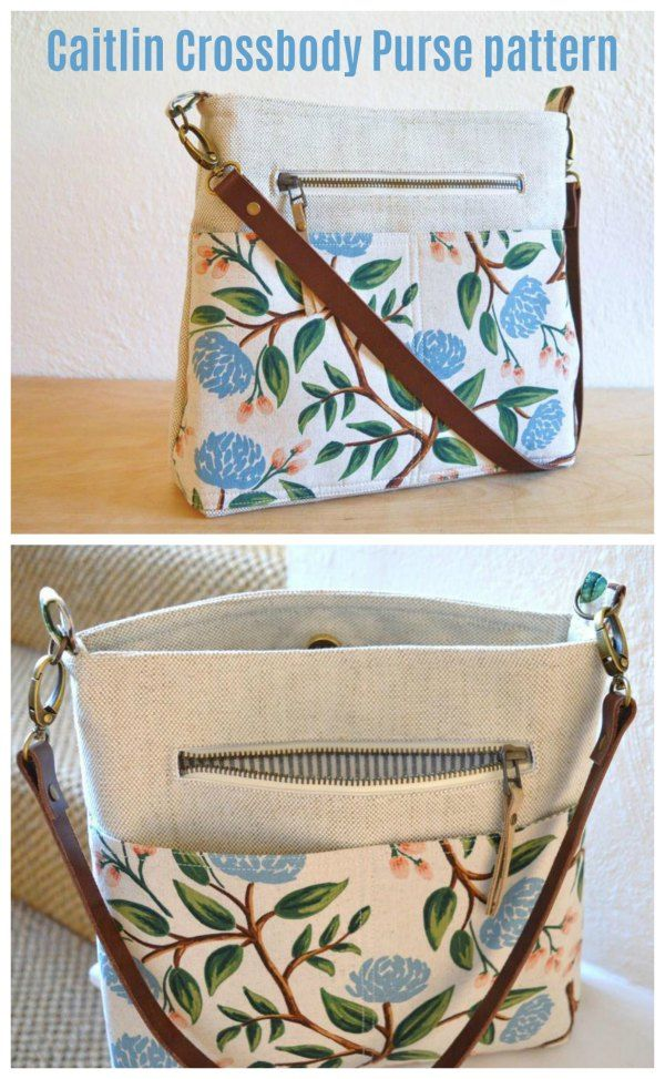 The Kaitlin Crossbody Purse pattern - Sew Modern Bags