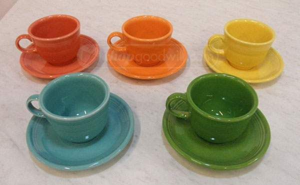 So many colors! Fiestaware! #goodwill #thrift & So many colors! Fiestaware! #goodwill #thrift | Look What I Found ...