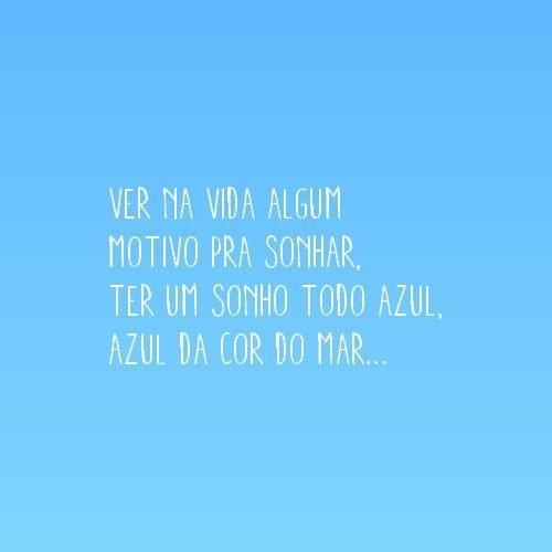 Azul Da Cor Do Mar Tim Maia Portugues Letras De Musicas