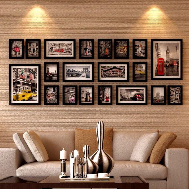 Фото рамки и постеры на стене