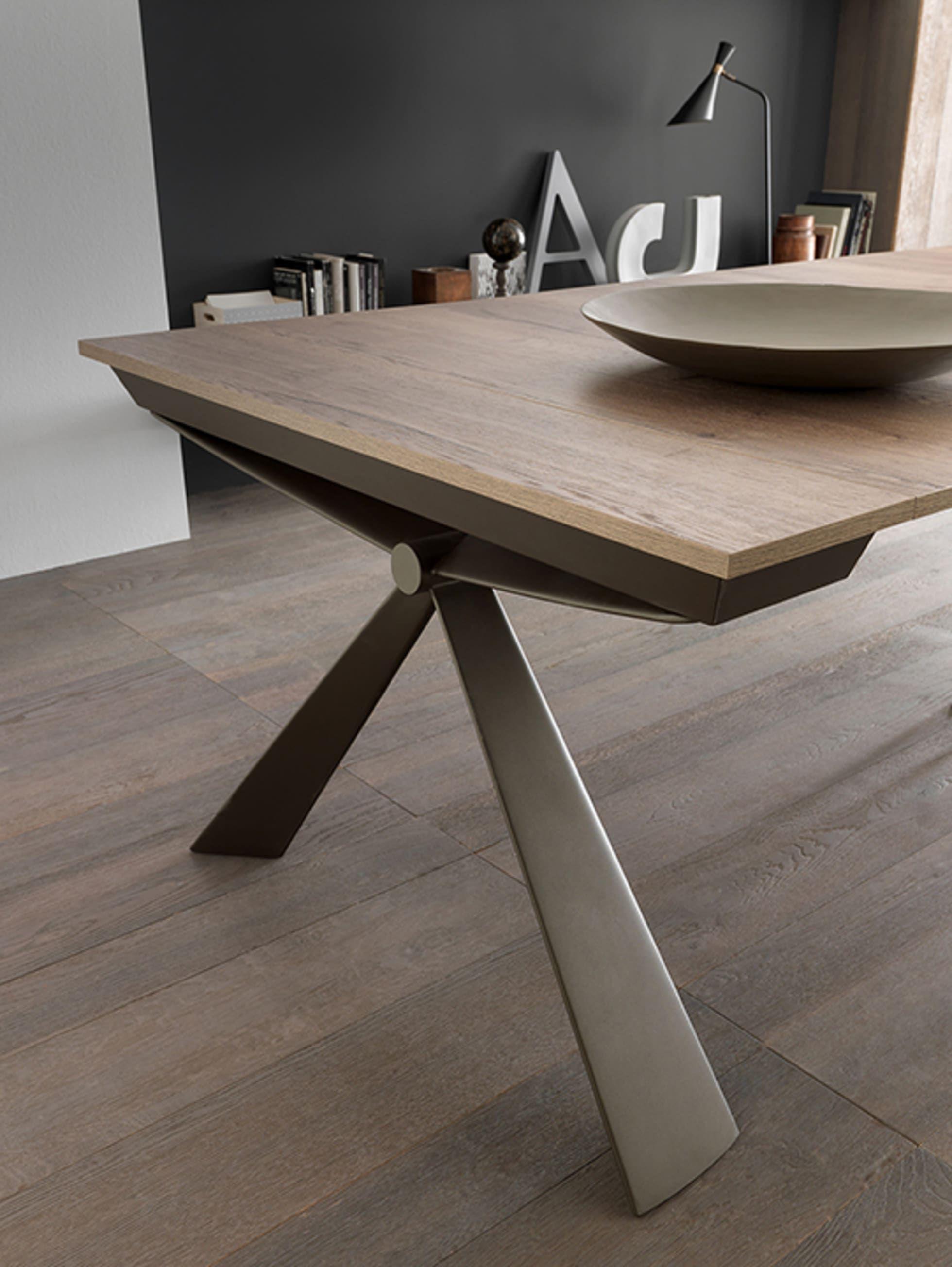 Consolle design moderna estensibile mobili a colori sala ...