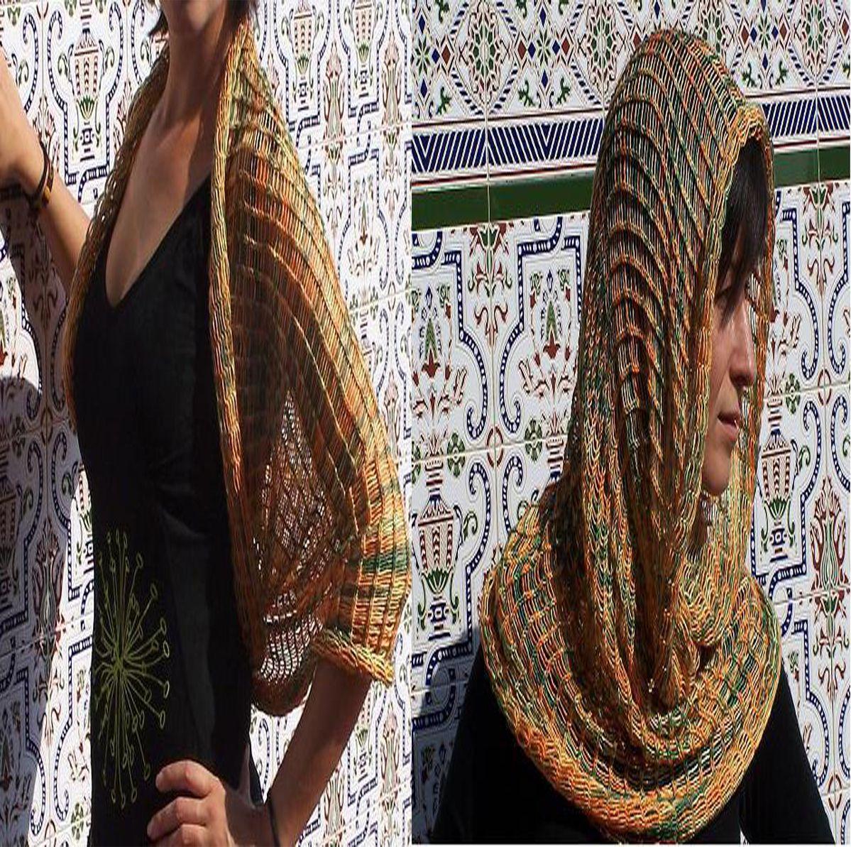 bufandas tubulares o magicas la forma de esta bufanda es cilndrica y esto le da