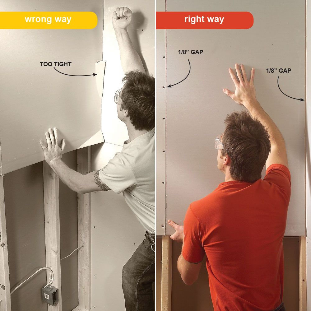 7 Drywall Installation Mistakes You Ve Probably Made Before