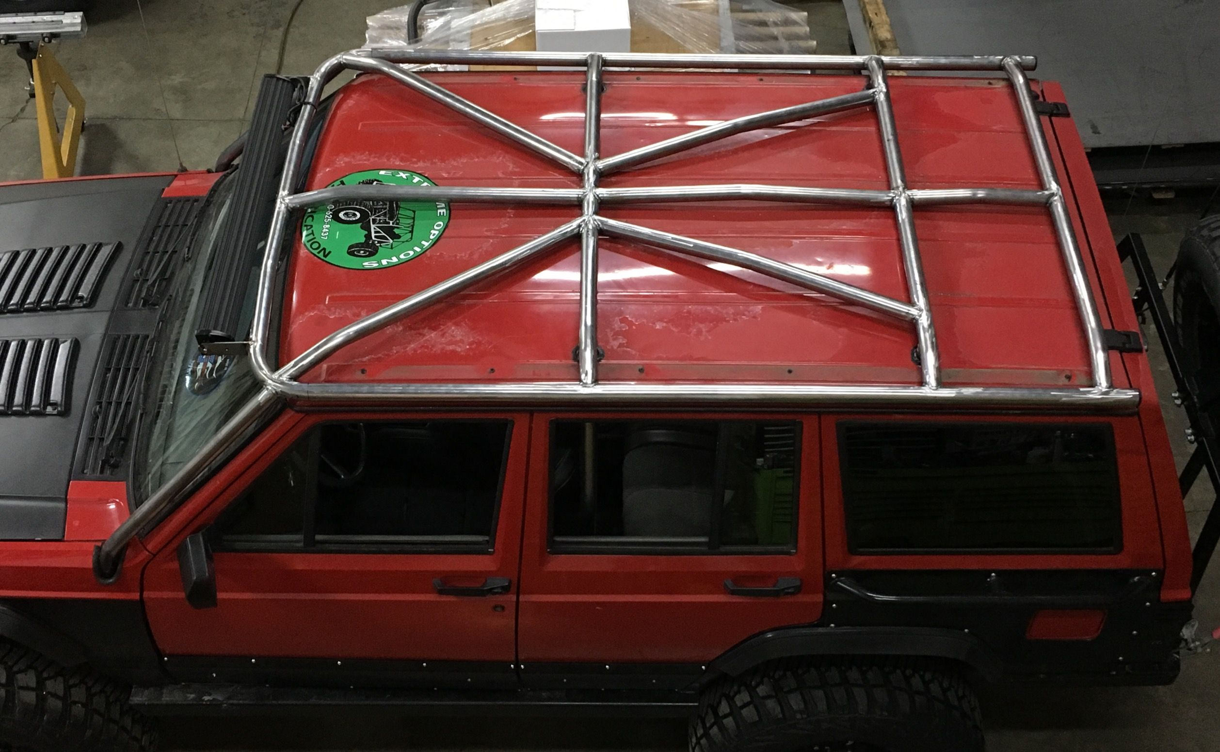 Xj Hybrid Builder Diy Cage Kit Cage Jeep Xj Rock Sliders