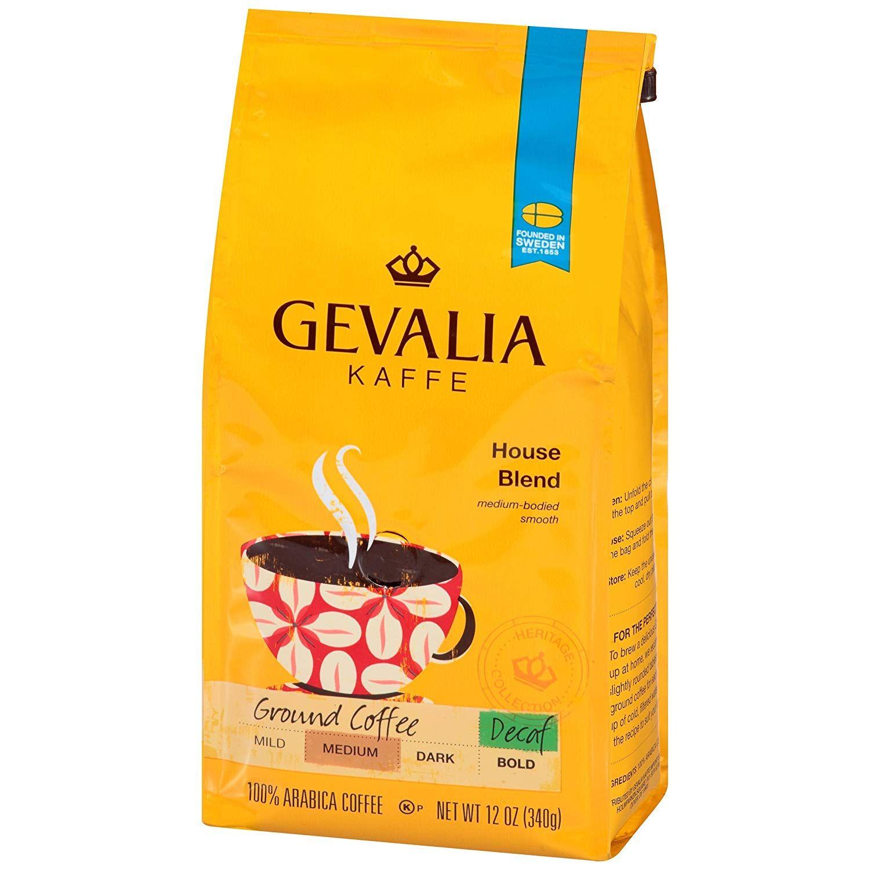 6Pack 12oz Gevalia Blend Ground Coffee (various flavors